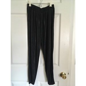Lucca Couture Pants & Jumpsuits - Shiny black pants urban outfitters